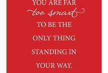 inspirational quotes / by Lauren Lemieux