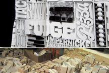 type | graphic design / by Oscar Reinstein