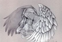 Auriel / I lost my Auriel at just 5-6 weeks on December 18, 2010.  For all those who are also grieving the loss of a child I am so sorry for your loss, my wish for you is peace.  I hope these resources and images bring you comfort. / by Candace Ross