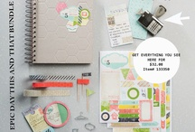This and That Smash Book / This and that product line. Smash book ideas and scrapbooking http://www.luvinstampin.com/?m=1 / by Luvin Stampin