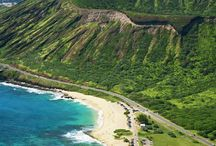 Hawaii (Aloha State) / Hawaii is the most recent of the 50 U.S. states and is the only U.S. state made up entirely of islands. It is in the northernmost island group in Polynesia, occupying most of an archipelago in the central Pacific Ocean. / by Jeannine Mantooth