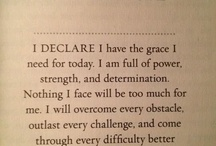 I Declare / by Stephanie Hendrawan