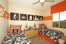 Matt's Orange room / by Jennifer Shanley
