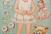 Arts & Crafts - Paper Dolls / by Ruth McNeill