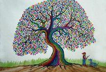 ARTSY TREES / by Marilyn Albers