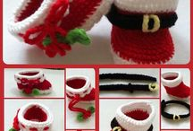 crochet - shoes / by Tecia Grover