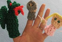 FINGER PUPPETS FOR FUN / by Anna Rose Montaperto