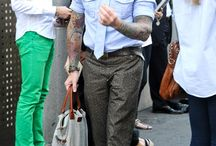 Mens Style Icon Nick Wooster / by Sam Jr