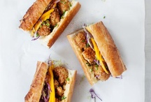 Sandwiches & Wraps / Different ideas for sandwiches and wraps! / by Rhonda Crook