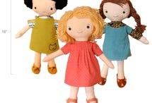 Sewing Dolls and Stuffed Things / by Megan