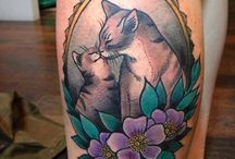 Cattoos (Cat Tattoos) / A board of cattoo inspiration...I really want a pair of cattoos of my kitties... / by Katelyn Klump