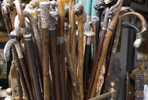 Collections, Canes & Walking Sticks / by Benita Wykert
