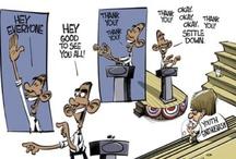 Political Cartoons  / by Jenn Barry