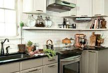 the kitchen / by Sherri Sylvester