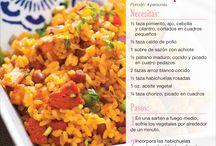 Recetas de cocina / by Alfredo Vela