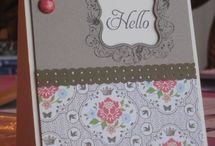 Stampin' Up Sensations / by Kay Carlson