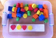 TEACCH, Structured tasks - strukturované úkoly, autismus / by Monika Rejsková