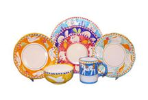 Campagna Italian Dinnerware / Here is our Campagna Italian Dinnerware collection available for purchase in NYC. Part of the Campagna Collection, VIETRI's very first dinnerware collection introduced in 1983 / by la Terrine