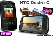 HTC Desire C Deals / Free HTC Desire C contract deals with the cheapest UK prices for line rental on pay monthly contracts. / by Phones LTD - Compare Cheap Mobile Phone Deals