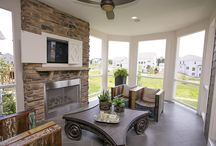 fireplace ideas / by Leslie Treece