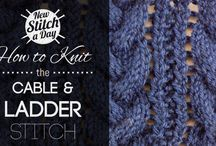 Knitting-new Stitch A Day / by Mary Ann Nash