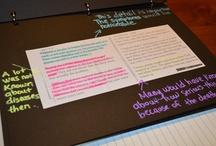 Interactive notebook ideas / by Kelly Myers Acevedo