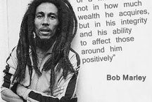 Bob MARLEY..my insperation / by Paige Butler