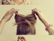 hair styles / by Sarah Motzer