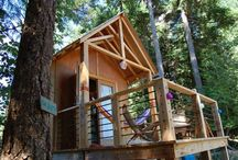 Treehouse Inspirations / Inspirations for our treehouse / by Beth Kyle