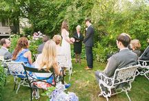 Backyard Weddings / At-home backyard wedding ideas. / by IntimateWeddings.com