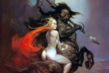 Frazetta / by Joseph Oppecker