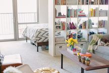 Studio Apartment Decorations & Organization / by Alexandra Friedman