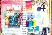 art journaling and mixed media / by Jennifer Duran-Mocha