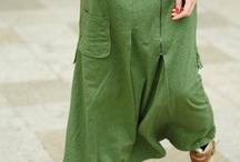 Pants, skirts / by Nina Lelangeningati