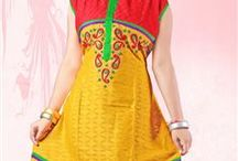 Casual Kurtis / Take a look at widest assortment of casual kurtis, anarkali style kurtis, cotton kurtis @ cheapest prices online. Pick your favorite one from http://www.simmaya.com/ShopOnline/Kurtis / by Simmaya