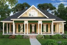 Cottage Style / Cozy cottage decor for your home. Browse all of our cottage house plans here - http://www.thehousedesigners.com/cottage-house-plans/ / by House Plans by The House Designers