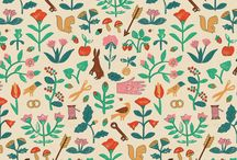 Fabrics, Textiles, Wallpapers / by Manda Collins