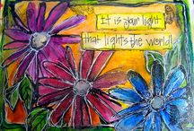 Art Journals - WORDS/QUOTES/PHRASES / by Barbara Lane