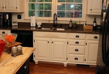 Kitchen makeover / by Kim Young