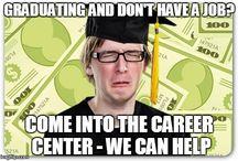 SCU Career Center Memes / by SCU Career Center
