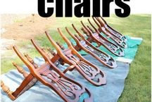 how to Spray Paint Chairs / by Joann Bingaman