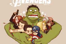 The Avengers  / by Lance Elliott