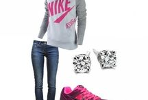 Sporty outfits / by Jacqueline Lopez