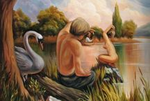 Take Another Look.. / hidden object paintings and optical-illusions / by Gretchen Tsantles