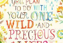 inspiring words / by Natalie Lewis