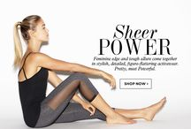 TREND GUIDE: SHEER POWER / by BEYOND YOGA