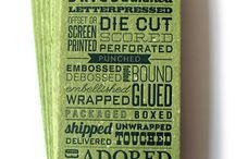 letterpress+design=love / by Shelby Stone