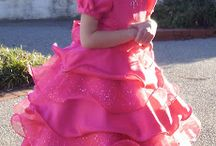 Cute girl pageant dresses / by Talia Woods