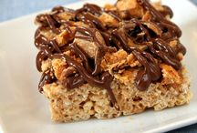 Rice Krispies Treats / Yes, an entire board devoted to all of the amazing variations on the iconic Rice Krispie treat, as well as other cereal treats. The possibilities are endless! / by Michelle (Brown Eyed Baker)