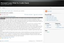 Personal loan lenders / by Barrie Launders